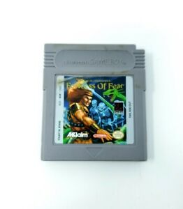 Fortress of Fear: Wizards & Warriors X (Nintendo Game Boy) GB Authentic Tested
