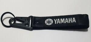 🔥Yamaha Black Keyring Keychain Wrist Strap🔥