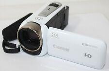 Canon VIXIA HF R500 1080p Full HD Digital Camcorder White 57x Zoom +16GB MicroSD