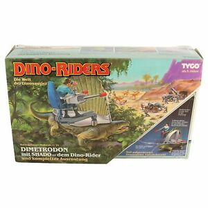Tyco Dino-Riders - Dimetrodon & Shado - Deutsche Box / MIB