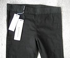 rick owens BLACK STRETCH pants w/ BOXER elastic M NEW jeans leggings