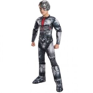 Cyborg - Justice League - DC - Deluxe Costume - Child - Large 12-14