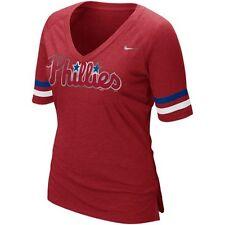 NEW MLB Nike Philadelphia Phillies Womens Fan Shirt