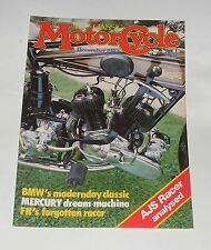 THE CLASSIC MOTOR CYCLE DECEMBER 1983 - 498CC RACING TWIN  AJS/BMW K100