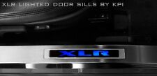 Cadillac XLR Door Sills Lighted Kick Plates LED Accessories GM Lic many colors
