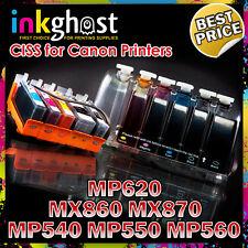 Canon compatible CISS MP540 MP550 MP560 MP620 MX870 MX860 CIS CLI-521 520 CIS