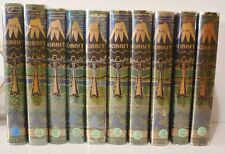 J.R.R. Tolkien, The Hobbit, First Ten Impressions, all with original jackets.