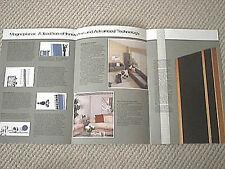 Magneplanar speaker technology brochure