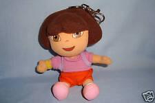 "Dora Plush backpack Keychain clip 5"""