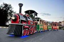 TRACKLESS MALL TRAIN RIDE BUSINESS, ELECTRICAL MALL TRAIN