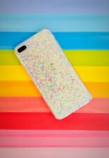 Glitter Bling Sequins Case Cover Silicone Iridescent PINKY iPhone 7/8 Plus Cell