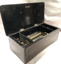 Antique Swiss Crank Cylinder Music Box