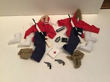 Gi Joe Action Man Artic Adventurer Outfit And Accessories X2