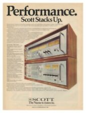 Scott Original A-436, T-526 Amplifier, Tuner Ad