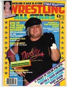 Rare Vintage Pro Wrestling Magazines Dusty Rhodes, Hulk Hogan, Billy Jack