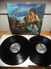 """OCTOBER FILE """"Holy Armour From The Jaws Of God"""" 2LP CANDLELIGHT ITA 2007 G/F"""