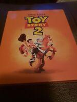 Toy Story 2 Steelbook 4k + Bluray Free shipping