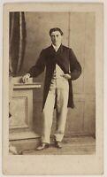 Henry Jolly Montpellier Francia Foto CDV PL52L4n34 Vintage Albumina