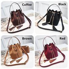 Handbags Mini Crossbody Cute Suede Bucket Bag PU Leather Womens Shoulder bag