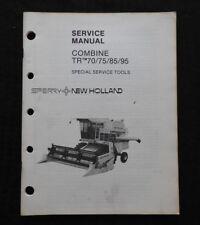 GENUINE NEW HOLLAND TR70 TR75 TR85 TR95 COMBINE SPECIAL TOOLS SERVICE MANUAL