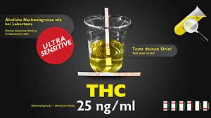 CleanUrin Urinteststreifen auf THC