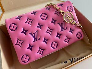 Louis Vuitton Pochette Coussin (Super Rare) M80745 Pink/Purple