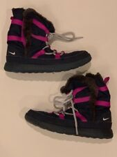 Girls Nike Fur Sneaker Boot