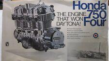 ENTEX VINTAGE HONDA 750 FOUR DAYTONA WINNER ENGINE MODEL KIT