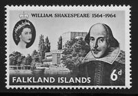 Falkland Islands Scott #149, Single 1964 Complete Set FVF MH