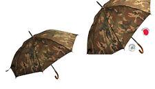 Ombrello automatico antivento mimetico militare trekking montagna funghi 112 cm
