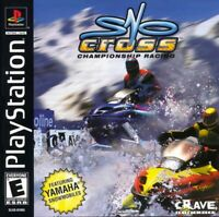 Snocross Championship Racing - PS1 PS2 Playstation Game Complete