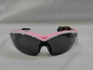 Serfas Optics Cycling Sunglasses New - Equipe 4005 Matte Pink Grey Polycarbonate
