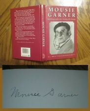 Signed Paul MOUSIE GARNER AUTOBIOGRAPHY OF A VAUDEVILLE STOOGE Comedy History