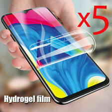 5pcs Screen Protector Hydrogel Film Full Cover Soft edge For Samsung Galaxy