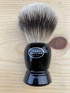 The Art of Shaving Handcrafted 100% Fine  Badger Shaving Brush - Black