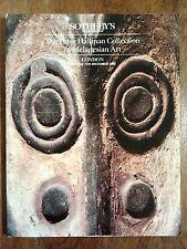 Sotheby's London The Peter Hallinan Collection Melanesian Art December 1992