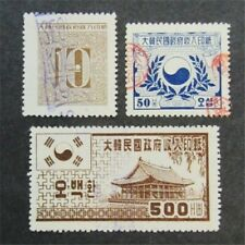 nystamps Korea Stamp Used