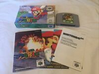 Super Mario 64 (Nintendo 64, 1996) N64 Complete Box & Manuals Tested