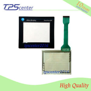 Touch screen panel for AB 2711-T6C5L1 PanelView Standard 600 with Front overlay