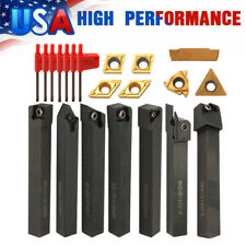 21pack Solid Carbide Inserts Holder Boring Bar Wrench Lathe Turning Tools Q6j7