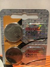 Maxell 2 Pack Cr2025 3v Lithium Batteries Hologram X Battery Button Coin cells