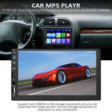 7inch 2DIN Car FULL Touch Screen MP5 FM Radio Player Bluetooth Car Audio+Camera