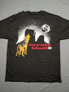 Vtg Marlboro Coyote Bluff Shirt XL Black 90s Pocket Logo Mens Adult Size READ!!!