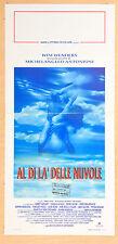 LOCANDINA, AL DI LA' DELLE NUVOLE, ANTONIONI, WENDERS, DALLA, U2, ROMANTICO - B