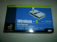 Cisco-Linksys Wps54G Wireless-G 2.4 Ghz 802.11g Print Server