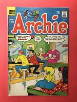 ARCHIE #182  All Work & No Pay, Guilty Feeling  SILVER AGE 1968 (.12 cent comic)