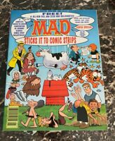 VINTAGE MAD Comic Magazine SUPER SPECIAL JAN 1995 W/ STICKERS