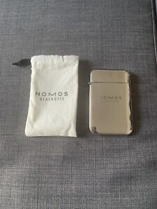 NOMOS Glashutte business Card Holder Brand new (with Pouch Holder)