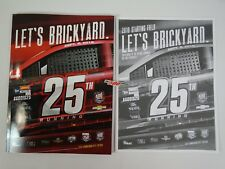 2018 Big Machine Vodka 400 Brickyard 25th Collector Program W- Starting Line-Up