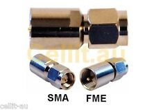SMA to FME Male/Male MODEM/ROUTER ANTENNA CABLE ADAPTOR. MAXON NETCOMM TELSTRA